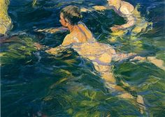 Хоакин Соролья «Пловцы, Хавеа» (1905)