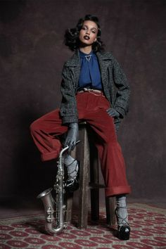 DSquared2 Goes Old School Glam For Pre-Fall 2013 | StyleBlazer