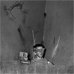 Roger Ballen, Skew Mask, 2002