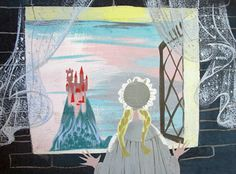 "Mary Blair concept art for Walt Disney's ""Cinderella"" (1950)"