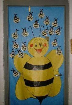 Resultado de imagen para puerta pinterest abejas