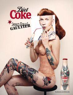 Jean Paul Gaultier for Coca Cola Company.