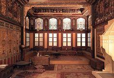 Reception room from a mansion in Kozani, Macedonia, #Greece, mid-18th century, via @TheBenakiMuseum  C. P. Cavafy (@CCavafy) on Twitter