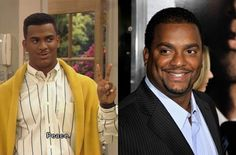 Alfonso Ribeiro from Fresh Prince of Belair..Carlton (Then & Now)