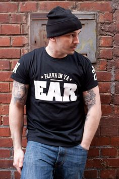 Flava in ya Ear - Streetwear T-Shirt Black