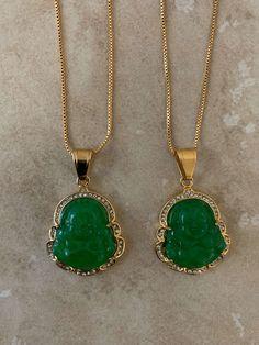 Round Natural Malachite Necklace Crystal Stone Gemstone Genuine Stainless Steel Stacking Layering