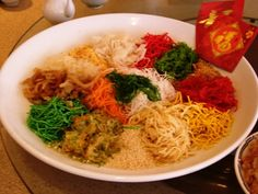 Yee Sang - Chinese New Years Dish
