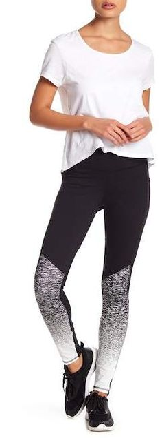 X by Gottex Placement Print Leggings