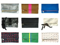 Miss Bagaholic: My wishlist: Clare Vivier Foldover Clutch at www.missbagaholic.com
