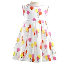 d953ed261b19 Balloon Dress + Bloomers - By Rachel Riley Cute Girl Outfits, Toddler Girl  Outfits,