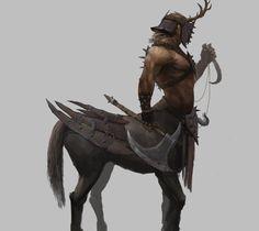 this is raider of daghdac tribe one of badass centaur pack