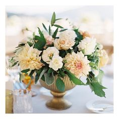 Floral Centrepiece #twigandtwine as seen in #FlutterMagIssue6