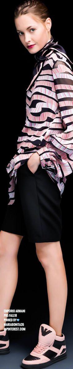 Red Carpet Fashion, Pink Fashion, Colorful Fashion, Womens Fashion, Giorgio Armani, Emporio Armani, Pink Color, Color Mix, Black
