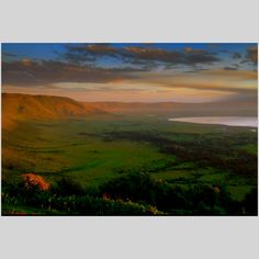 The beautiful Ngorongoro Crater, Tanzania. Visit this spectacular place with TrueAfrica - visit www.trueafrica.com for more information