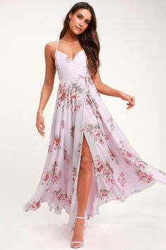 100+ Dresses Perfect for Wedding Guests | The Perfect Palette Cute Floral Dresses, Floral Print Maxi Dress, Maxi Wrap Dress, Beautiful Dresses, Dress Lace, Dress Skirt, Midi Skirt, Moda Floral, Long Skirt Outfits