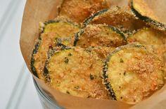 Fresh Zucchini Oven Chips