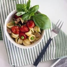Orecchiette with Summer Vegetables