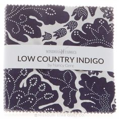 Low Country Indigo Charm Pack - Nancy Gere - Windham Fabrics