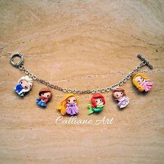 The princesses are back  Email: callianeart@gmail.com WA/Line: +628175070509 #handmade #clay #girlsaccessories #bracelet #jewelry #accessories #princess #aurora #sofia #ariel #littlemermaid #sofiathefirst #rapunzel #tangled #anna #elsa #frozen #tagsforl