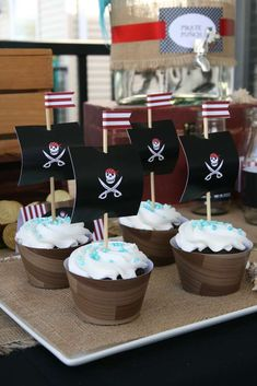 Pirate Party Birthday Party Ideas   Photo 6 of 21   Catch My Party