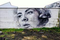 Guido van Helten - street art - Reyjkavik