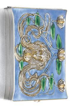 A jewelled silver and enamel cigarette case, Bolin, workmaster Konstantin Linke, Moscow, 1899-1908.