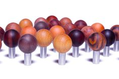 Natural collection spherical cabinet pulls by Tantalus Design Hardware, Cabinet, Architecture, Natural, Wood, Modern, Collection, Design, Clothes Stand