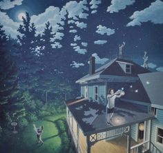 Rob Gonsalves - Firefly Constellation
