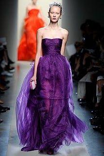 Grape crush!  The deep purple layered skirt is so pretty.
