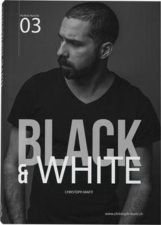 Portfolio Book, Portrait, Black And White, Books, Movies, Movie Posters, Fictional Characters, Photo Studio, Libros
