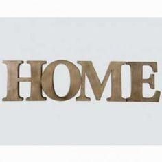 Lettres métal Home