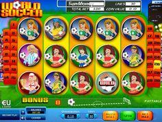 World Soccer - http://freeslots77.com/world-soccer/ - The game of soccer is definitely world's most favorite sports and that is probably why, the Skillonnet has brought the popular sports into a virtual slot machine, known as free World Soccer online slot game. The five-reel and thirty-payline slot is here to give you both the entertainment and m...