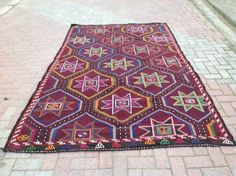 Turkish Kilim Rug by PergamonArt