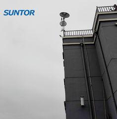 Ultra long range wireless CPE model ST5023PRO up to 100km, project construction site