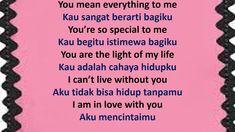 Say I Love You, My Love, English Phrases, Learn English, Sayings, Learning, Sentences In English, Learning English, Lyrics