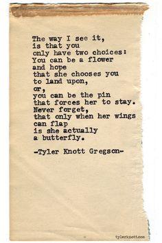 •❥ɮҽąųtﻨƒųℓɣҽґɓﻨąɠҽ  |    Typewriter Series #665byTyler Knott Gregson