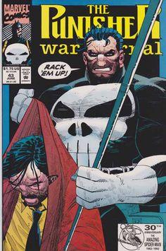 The Punisher War Journal #43 John Romita Jr. Cover