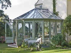 Grand ambitions: One of the attractive National Trust collection of conservatories by Vale...