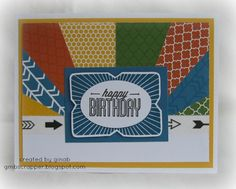 Gina's Little Corner of StampinHeaven: August Stamp of the Month - Framed