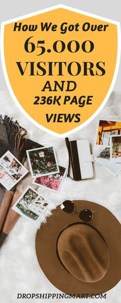 How do we know? We got over 65,000 visitors and 236,000 page views in one month through Pinterest…and we had less than 1,000 Pinterest followers.