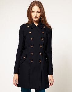 French Connection Military Coat $146.53