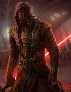 Darth Revan, Star Wars, Knights of the Old Republic. He only comes in at second for my all time favorite Star Wars character. Star Wars Sith, Star Wars Rpg, Clone Wars, Star Trek, Star Wars Darth Revan, Star Wars Fan Art, Star Wars Concept Art, Jedi Sith, Sith Lord