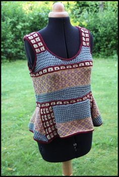 coton2 Vest, Pullover, Jackets, Fashion, Wool, Fabric, Down Jackets, Moda, Fashion Styles