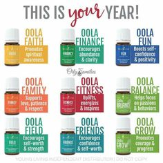 OOLA - INFUSION 7 KIT - YOUNG LIVING