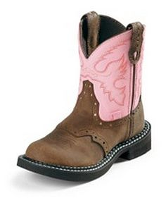 Justin Boots 9901C - Justin Kid's Gypsy Cowgirl Bay Apache Style