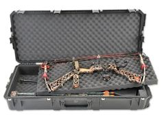 Bags Cases and Covers 181300: Skb 3I-4217-Db Parallel Limb Double Bow Case BUY IT NOW ONLY: $249.99