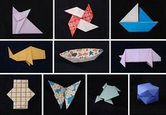 for Kids: Easy Models Great for Beginners: origami animals Kids Origami, Origami Love, Origami Animals, Origami Easy, Origami Paper, Crafts To Do, Diy Crafts For Kids, Paper Crafts, Summer Camp Crafts
