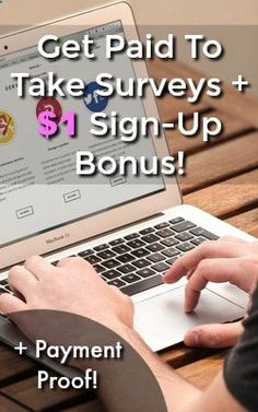 Are you looking to make money online? Learn how you can get paid to take surveys and get a $1 Sign-up bonus at my favorite site PaidViewpoint. They pay via PayPal and Ill show you proof that they pay!