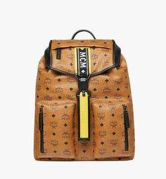64136bdf948 Raymonde Two Pocket Backpack in Visetos Mcm Bags