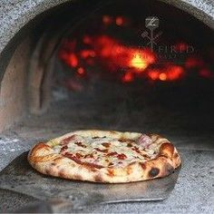 This Italian deli inspired pizza can be made in a wood fired oven or your kitchen oven. Salty, spicy, and garlicky this pizza has it all! Wood Oven, Wood Fired Oven, Wood Fired Pizza, Fire Cooking, Oven Cooking, Oven Recipes, Pizza Recipes, Asian Recipes, Recipies